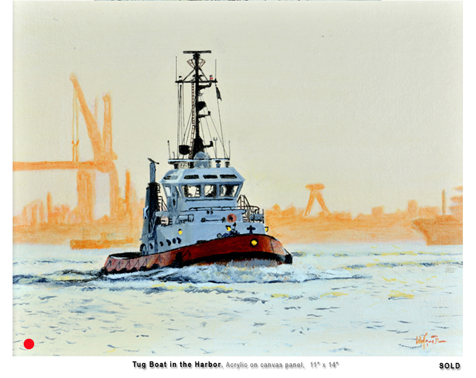 Tug in the Harbor
